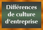 Différences culture d'entreprise